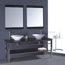 Bathroom Vanities With Glass Tops 36 Best Glass Sink Vanity Images On Pinterest Glass Vanity