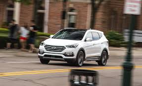nissan rogue boot space 2017 hyundai santa fe sport in depth model review car and driver