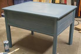 Chalk Paint Side Table Diy Chalk Paint Side Table Makeover Eva Ennis Creative