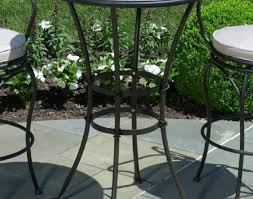 Travertine Patio Table Kitchen High Patio Set With Travertine Tiles And Black