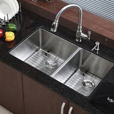 Kraus Stainless Steel  X  Double Basin Undermount - Kraus kitchen sinks reviews