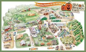 map attractions attractions map for bishop s pumpkin farm in wheatland california