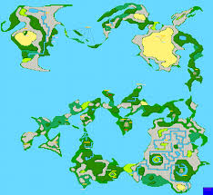Fantasy World Maps by Final Fantasy World Map For Nes By Reyvgm Gamefaqs
