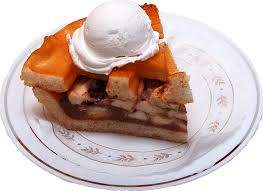 apple fake pie slice ala mode decorcentral com dba flora cal