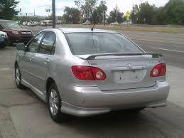 how many per gallon does a toyota corolla get 2004 toyota corolla s 4800 mr auto