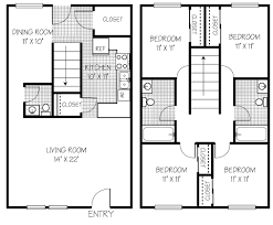 four bedroom floor plans affordable 2 3 4 bedroom apartments in shippensburg pa