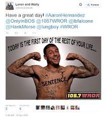 Aaron Hernandez Memes - slanderous aaron hernandez memes follow the guilty verdict photos