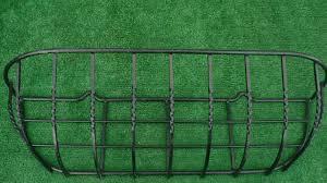 hayrack wall trough window box manger demonstration liner