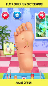 foot doctor nail spa salon game for kids free on the app store