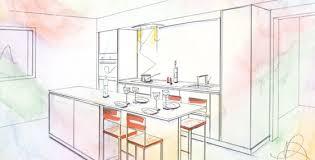 dessiner cuisine cuisiniste indépendant caen conception de cuisine