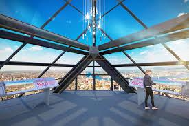 philadelphia u0027s one liberty observation deck sets grand opening