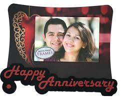 wedding anniversary plaques buy digital vision happy wedding anniversary photo frame gift