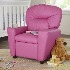 zoomie kids candy kids recliner with cup holder u0026 reviews wayfair