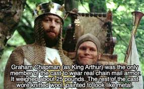 hilarious facts about monty python and the holy grail others