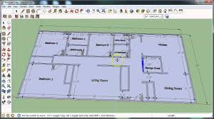 google floor plans sketchup floor planning video 3 youtube