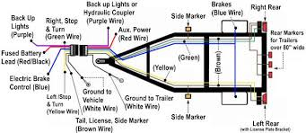 wiring diagram free trailer 4 way trailer wiring diagram sample 4