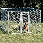outdoor modular dog kennel runs