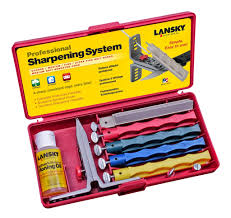 professional 4 stone knife sharpening kit
