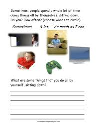 Shopping Worksheets Seven Social Skills Worksheets For Kids With Asd Who Are Socially