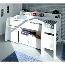 lit surélevé avec bureau lit mezzanine avec bureau et rangement lit superpose avec