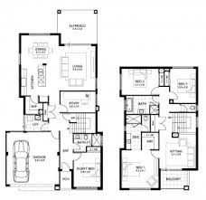 Small Bungalow House Plans Smalltowndjs by House Plan 2 Storey House Floor Plan With Perspective