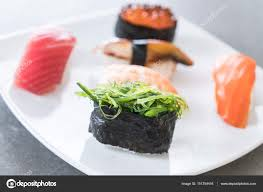 jeu de cuisine sushi jeu de sushi mixte photographie topntp 151754416