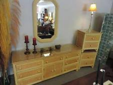 Henry Link Bedroom Furniture by Wicker Dresser Ebay