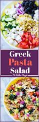 fast u0026 easy greek pasta salad the kitchen magpie