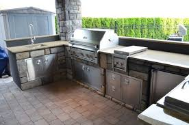 outdoor kitchen faucet brilliant stainless steel outdoor kitchen appliances with silestone