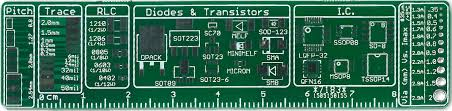 the ultimate pcb ruler from sinzu on tindie