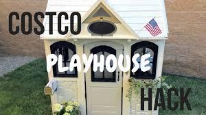 Costco Dog House Costco Playhouse Hack Youtube