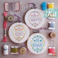 cross stitches quote cross stitch kits modern cross stitch