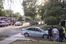 Ohio State Car Flags Lakewood U0027s Day Of Accidents 2 Rollovers And Terrible Accident On