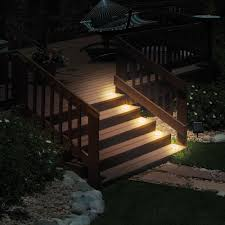 How To Install Outdoor Lighting by Install Stair Lighting Stair Lighting For Outdoor U2013 Lighting