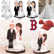 baseball wedding cake toppers phillies and sox baseball wedding cake toppers