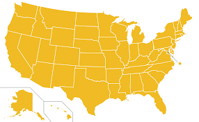 United State Of America Map by File Libertarian Party Ballot Access Locator Map 1996 United