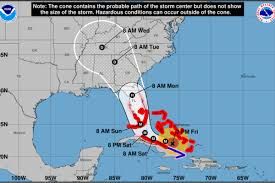 South Florida Map by Miami Is Officially Under A Hurricane Warning Curbed Miami