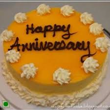 anniversary cake send anniversary cake with mango topping online by giftjaipur in