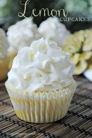 lemon cupcake with lemon buttercream shugary sweets