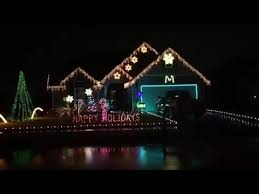 broken arrow christmas lights christmas lights on home in broken arrow oklahoma youtube