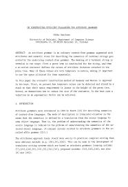 Sample Resume For Disability Support Worker On Constructing Efficient Evaluators For Attribute Grammars Springer