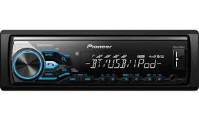 pioneer mvh x380bt digital media receiver does not play cds at