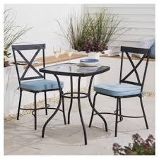 Tesco Bistro Chairs Buy Lucerne Garden Bistro Set 3 From Our Metal Garden
