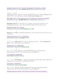 resume format for electronics engineering student format doc for ojt frizzigame resume format doc for ojt frizzigame