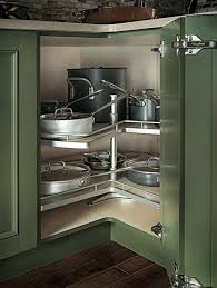 Best DIYKitchen Storage Images On Pinterest Kitchen Home - Lazy susan kitchen cabinet plans