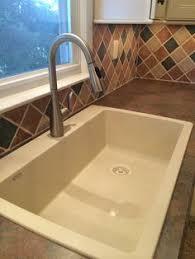 Masters Kitchen Sinks 33 Ignacio Drop In Granite Composite Sink Eggshell White