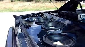 camaro speaker box custom camaro sub box demo