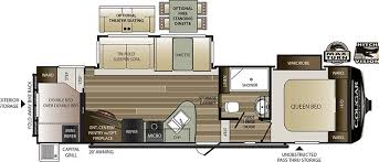 Open Range 5th Wheel Floor Plans Cougar Half Ton