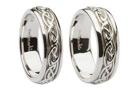 celtic knot wedding bands silver celtic knot wedding ring