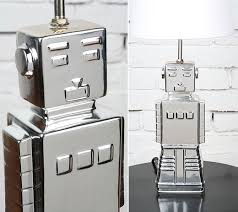robot lamp says light my shiny metal technabob